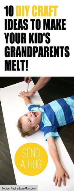 I'm so doing these with my kids! http://lifeasmama.com/10-diy-craft-ideas-to-make-your-kids-grandparents-melt/