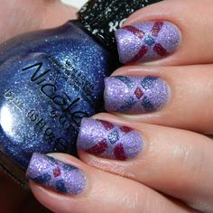 NOPI Gumdrops Nail Art - I Lilac Gumdrops ~ Blue-Berry Sweet On You ~ My Cherry Amour