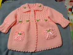 We have compiled 100 crochet baby vest pattern samples. See all of 40 crochet baby vest patterns. Browse lots of Free Crochet Patterns.This Pin was discovered by Kad Knitting For Kids, Baby Knitting Patterns, Knitting Designs, Crochet Patterns, Knit Baby Dress, Knitted Baby Clothes, Vest Pattern, Free Pattern, Vestidos Bebe Crochet
