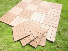Build4eco DIY Composite Wood Decking Tile Interlocking Deck Tiles 4 Slate Style (10 Pack, 12-inch X 12-inch) - Amazon.com