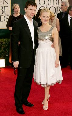 The All-Time Best Couple Style at the Golden Globes - RYAN PHILLIPPE AND REESE WITHERSPOON, 2006  - from InStyle.com