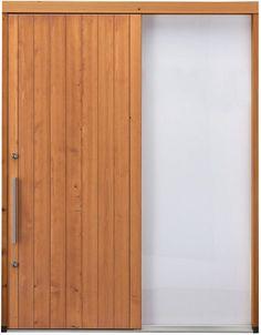 木製断熱引き戸TH951