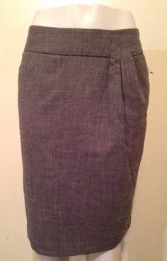 Worthington BlackHerringbone Straight Pencil Pocket Lined Career Skirt Size 10 $19.99 #skirt #pencilskirt #careerskirt #careerwear