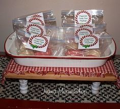 Nana Moon Shop: Peppermint Candy Cane Playdough Recipe