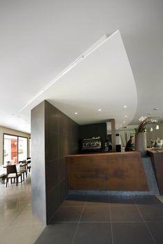 corten steel lounge bar, by Monica Besseghini with altrostudio Steven Mufatti