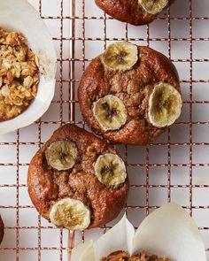 Gluten-Free Banana-Almond Butter Muffins!!!