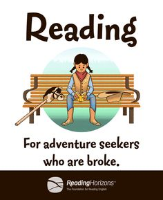 Reading: For adventure seekers who are broke. Reading Program Blog   Reading Horizons