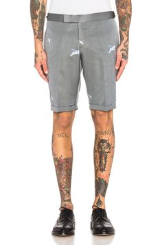 Crane Ottoman Shorts