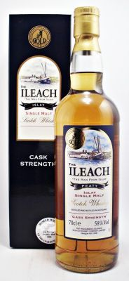 The Ileach Single Malt Whisky Cask Strength 58%. 70cl Jim Murray's Whisky Bible 2008 : World Whisky of the year runner-up   IWCS  : Gold Award 1999
