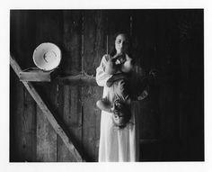 Edith and Elijah, Danville, Virginia 1968  by Emmet Gowin