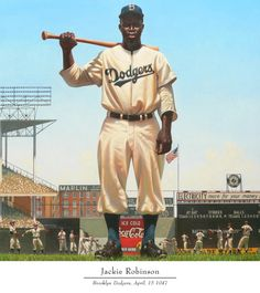 """I believe in the goodness of a free society. And I believe that society can remain good only as long as we are willing to fight for it—and to fight against whatever imperfections may exist."" [April 15th is Jackie Robinson Day]"