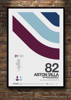 Rotterdam '82 Aston Villa Fc, European Cup, Football Fans, Rotterdam, Rugby, Man Cave, Pop Art, Club, History