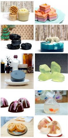 Need last minute homemade Christmas gift ideas? Then try one - or even all! - of these easy homemade melt and pour soap recipes! These melt and pour soap recipes are ready to pop out of the mold the same day you make them for gifting on the fly.