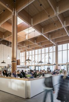 Image 2 of 30 from gallery of Östermalm's Temporary Market Hall  / Tengbom. Photograph by Felix Gerlach
