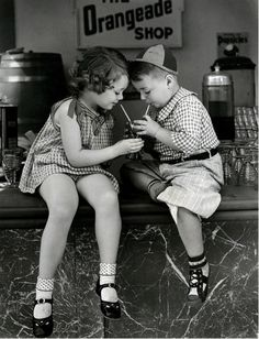 Spanky  - I watched in the '50's, but these were filmed in the late '30's  early '40's