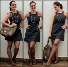 vestido e meia calça (entrando no outono) + detalhes clique na imagem.
