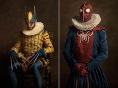 Pop culture ft. Marvel