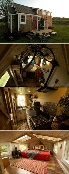 The Watertown, a 192 sq ft home featured on Tiny House Nation