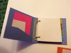 Miniature binder tutorial - I have absolutely no use for this but it's stinkin' adorable!
