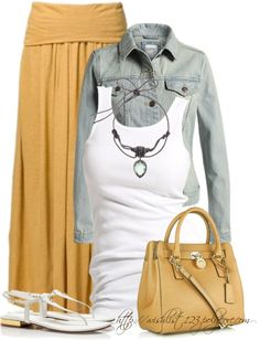 Comfort cute outfit...no jewlery