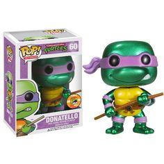Metallic Donatello comic con exclusive