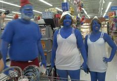 Walmart is known for selling everything imaginable; even smurf berries.