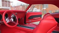Hank's 1967 Camaro Custom Leather Interior. Interiors by Shannon.com (Upholstery)