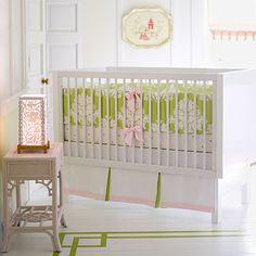 We love the soft feminine feel of this room. #serenaandlilystyle