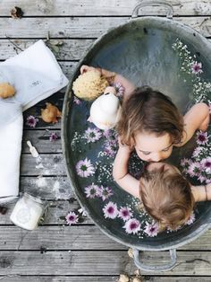 bath time with sibling! -  Childhood Memories - meadori