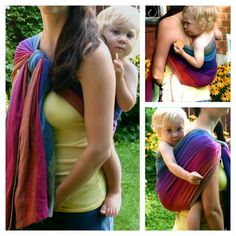 Rebozo carry