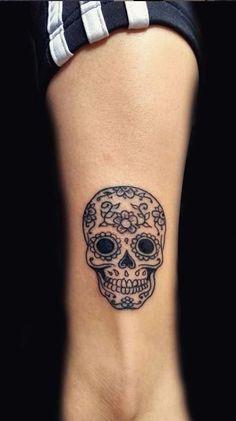 Over 100 unique Sugar Skull Tattoos designs & ideas - Tattoo with . - Over 100 unique sugar skull tattoos designs & ideas – tattoo me now – unique design - Feminine Skull Tattoos, Floral Skull Tattoos, Animal Skull Tattoos, Bird Skull Tattoo, Small Skull Tattoo, Skull Tattoo Flowers, Skull Tattoo Design, Tattoo Designs, Skull Candy Tattoo