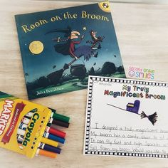 Need a read aloud for Halloween? Room on the Broom is one of my favorites! My students love to read along rhyming and repeating the predictable text. Pick up this free creative writing prompt in my TPT store to go along with it! Link in profile.  #hallowe Room On The Broom, Teaching Second Grade, Creative Writing Prompts, 2nd Grade Classroom, Classroom Setting, Elementary Teacher, Word Work, Read Aloud, Happy Halloween