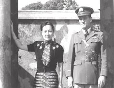 Soong May-ling and General Chennault in China, 1940s