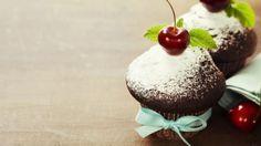 طريقة عمل مافن الشوكولاتة والكرز - Chocolate and cherry muffin recipe