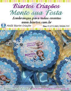 Delicioso e irresistível Monte sua Festa com Biartes Criações www.biartes.com.br