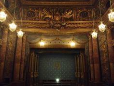 Versailles opera stage