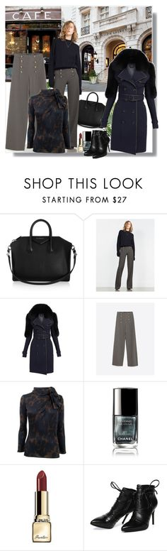 """""""Professional Work Style"""" by teah507 ❤ liked on Polyvore featuring Givenchy, Zara, Burberry, Giambattista Valli, Chanel, Guerlain, Morea, women's clothing, women's fashion and women"""