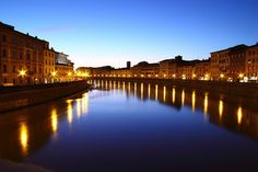 #Italy is crossed by many charming #rivers which offer a natural scenic beauty. The longest ones are located in the northern Italy, because the #Apennines split the country in two parts. Arno - Pisa