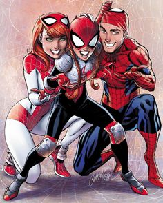 My variant cover to The Amazing Spider-Man: Renew Your Vows #2 with beautiful colors by @psteigerwaldart and awesome interior art by @ryanstegman *Variant cover available at your local comic book store! #spiderman #theamazingspiderman #renewyourvows #amazingspiderman #maryjane #peterparker #jscottcampbell #marvelcomics #variant