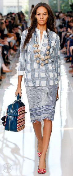 Tory Burch - love the entire look !