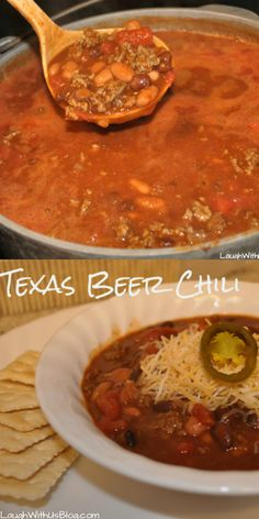 Quick Texas Beer Chili recipe--A fraction of the time, all the flavor. Love this recipe!
