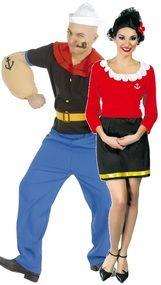 Couples Sailor Fancy Dress Costumes