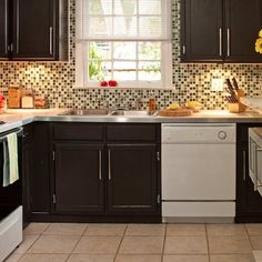backsplash 10. Color In The Lines | 50 Nifty Fix-Ups For Less than $100 | Photos | Easy Upgrades | Remodels & Upgrades | This Old House