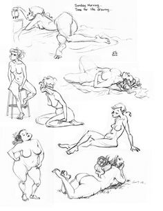 Life drawing Poses by Kitty Fung — Pose and gesture