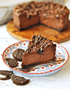 Czekoladowy Sernik z Oreo Cheesecakes, Recipes, Cheesecake, Ripped Recipes, Cherry Cheesecake Shooters, Cooking Recipes, Medical Prescription
