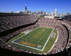 Soldier Field - Home of the Chicago Bears!