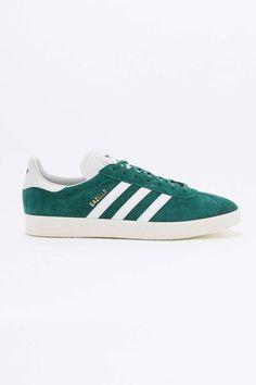 adidas Originals Gazelle Green Suede Trainers