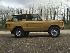 Range Rover Classic 1971, Bahama Gold