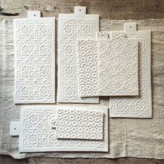 Porcelain boards, Justine Lacoste, Epure Studio