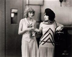 Hollywood icon Clara Bow in 1920s movie